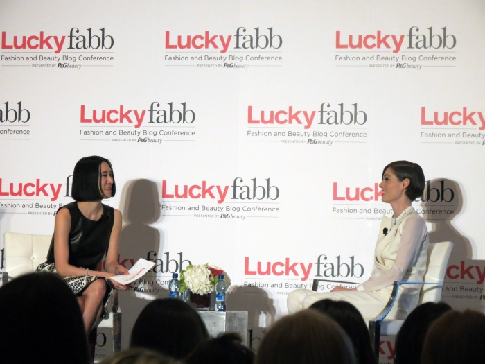 EVENTS LUCKYFABB WEST 2014 RECAP Eva Chen Coco Rocha