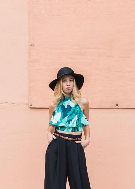 Outfit-Tropicalia_Agaci_Palm_Trees_Top_HM_Wide_Leg_Pants_Free_People_Hat_3